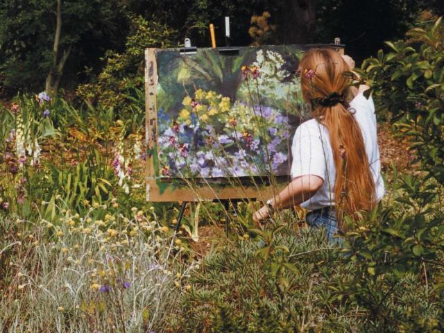 Denise Wyllie painting, Myddleton House