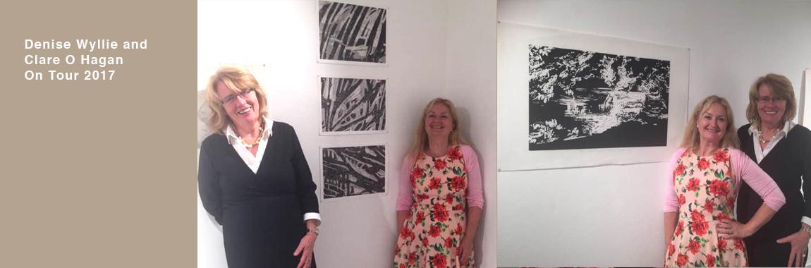 Denise Wyllie and Clare O Hagan