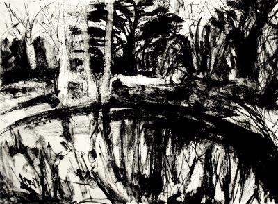 Pond at Highwood Hill