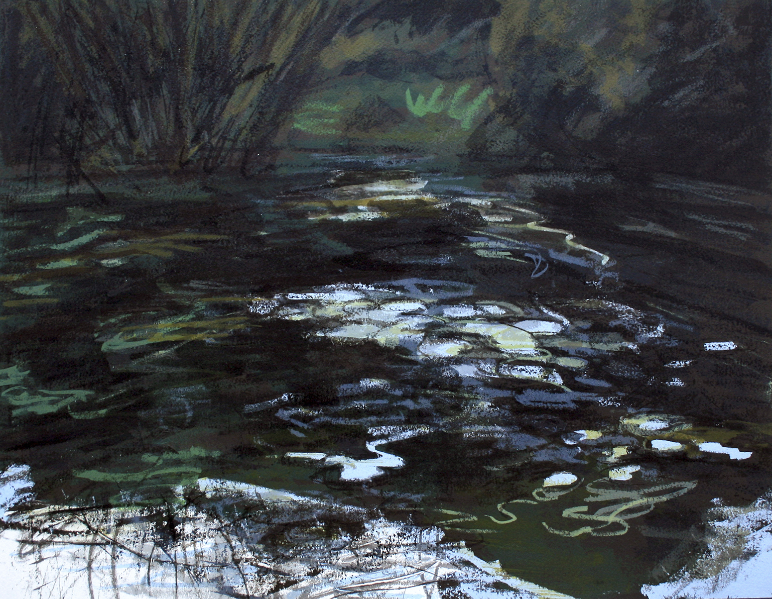 Friston Pond