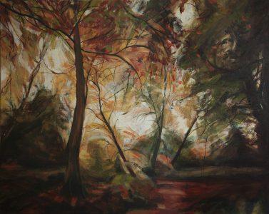 Hampstead Autumn red