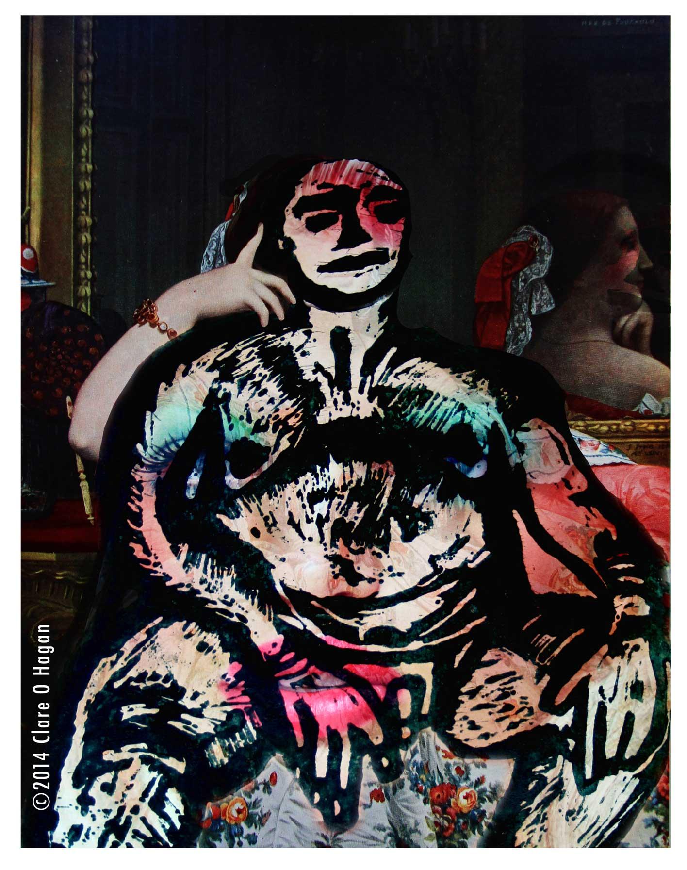 erotic art, feminism, embracing women, Jean-Auguste-Dominique Ingres