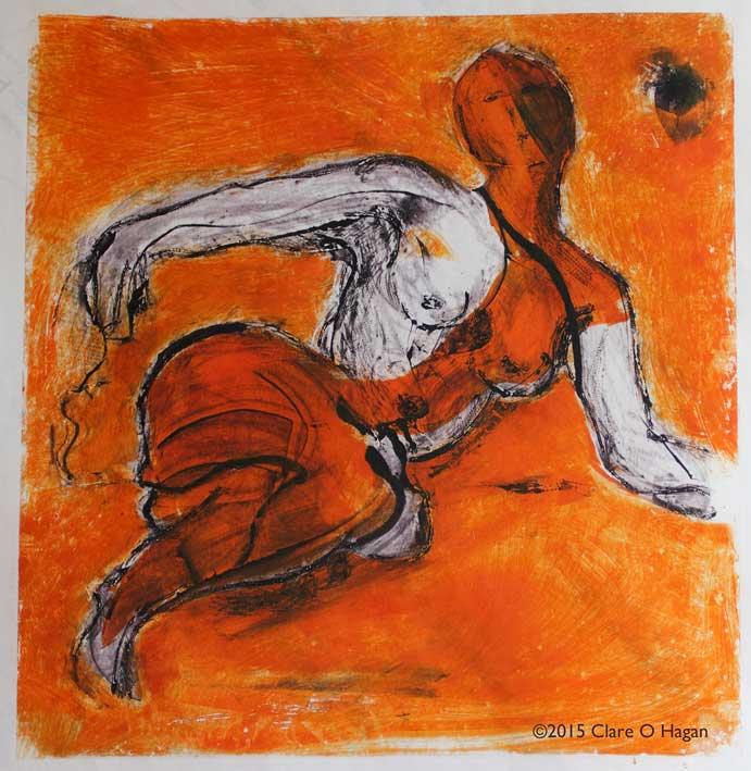 embracing women, erotic art, feminism