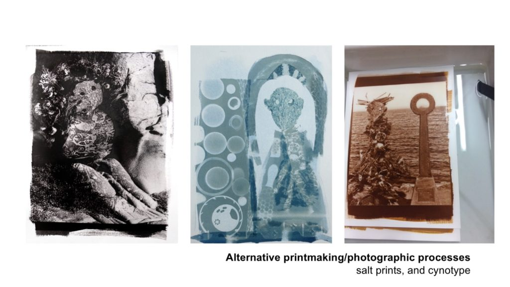 Alternative printmaking / photographic processes