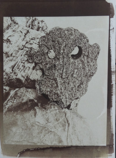 Keto Goddess of the Sea in rock portrait
