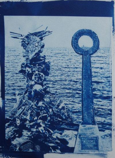 No 2 KETO Sun Series Cyanotype