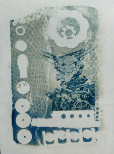 No 13 KETO Series Cyanotype