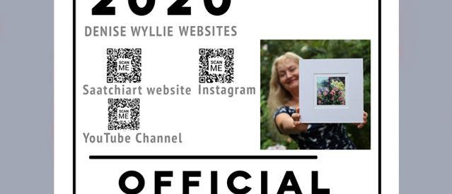 Denise Wyllie Artists' Walk Official poster 2020